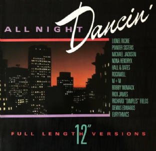 V/A - All Night Dancin' (LP) (G+/VG-)